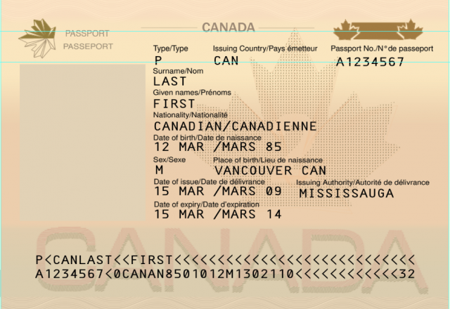 Canada Passport Psd Template Canada Passport Psd Template 2019